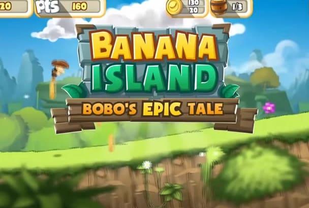 give you banana island game unity source code
