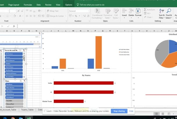 data analysis in excel using pivot tables and formulas