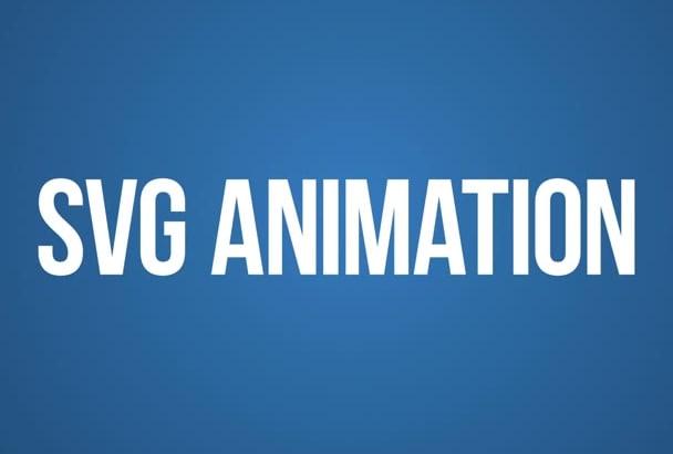 create svg json animation