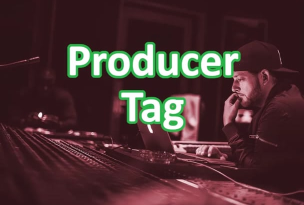 make a producer tag