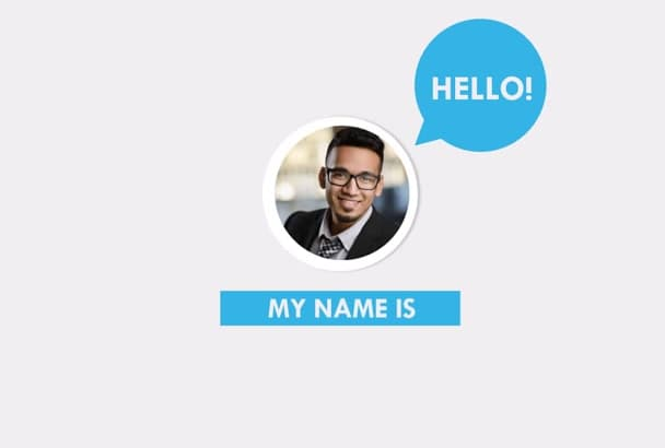 Create A Animated Resume Video Of Yourself Cv By Nomane Design - Cv-resume-video