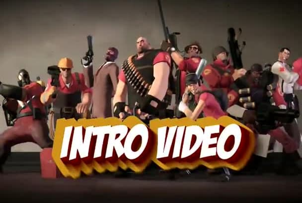 create team fortress intro video