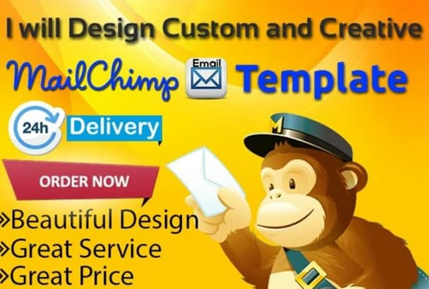 Create Mailchimp Newsletter Email Template And Campaign In 2 Hrs By