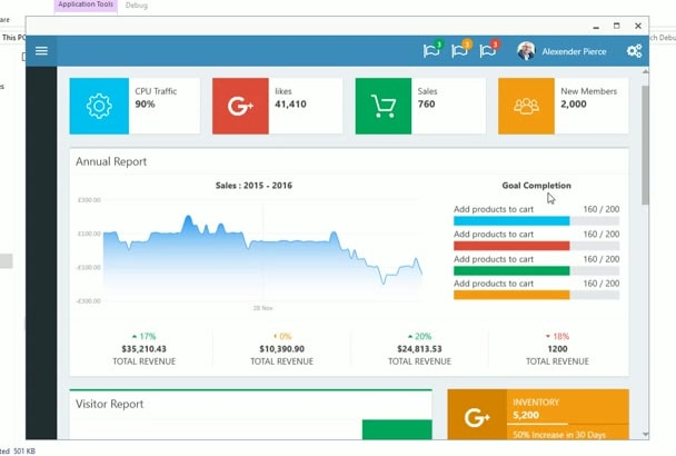 design and develop desktop apps with wpf
