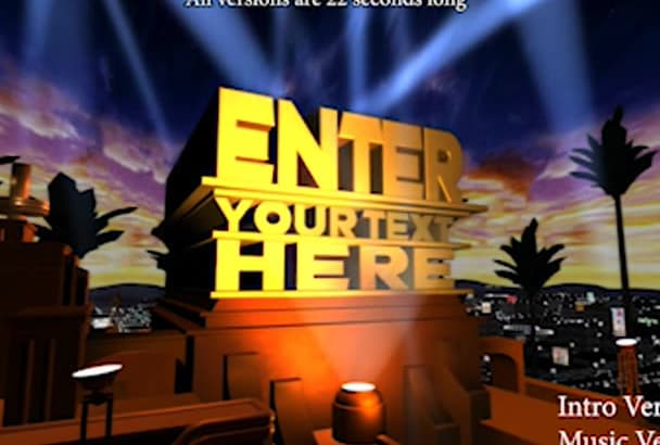 Make Your Own 20th Century Fox Intro For You By Mnkp27