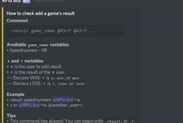 create custom discord bots with API integration