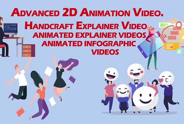 create 2d after effects custom video