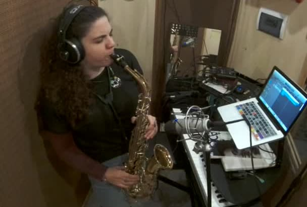 record sax or flute on your electro beat