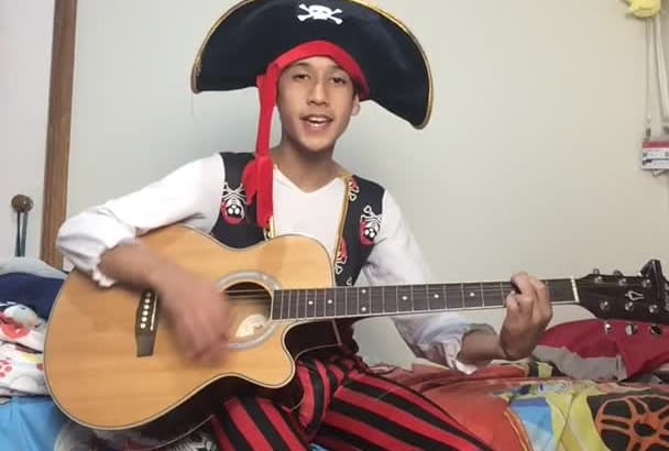 have a pirate sing and play you a happy birthday song