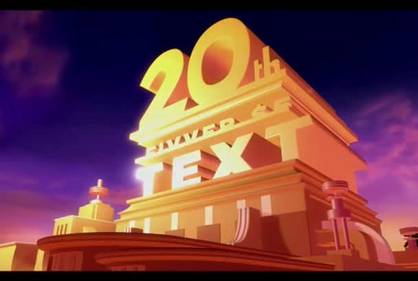 Customize A 20th Century Fox Intro With Your Text By Aranedits