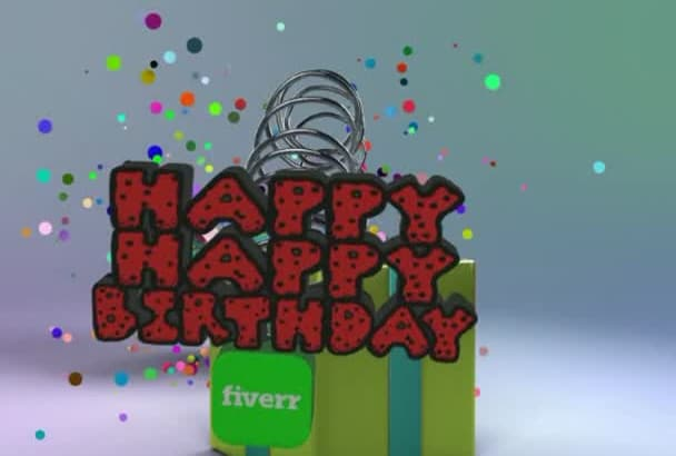 I Will Make A Video Birthday Wish Box Using After Effect