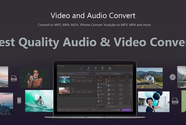 convert your video or audio files mp3 ogg wav m4a mp4 mov