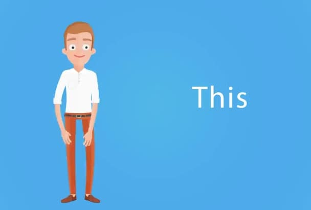 make an animated EXPLAINER video for your business