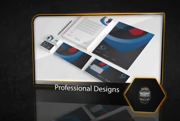 design letterhead,bussiness cards and stationery