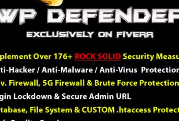 secure Wordpress Site from Hackers with 176 ROCK Solid Security Measures