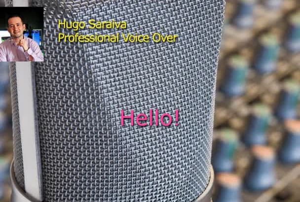 do voiceover recording with high quality sound