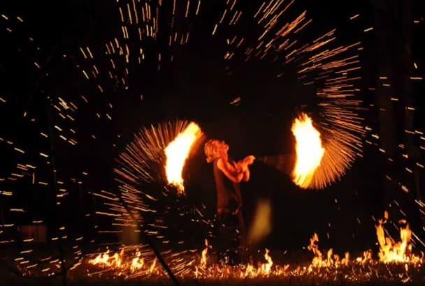 do Fire Flame show