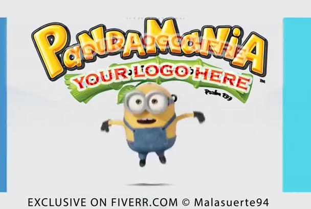 create a 3D animation with cute minions