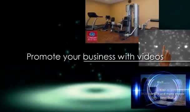 make 2 killer 30sec videos with your website url as watermark