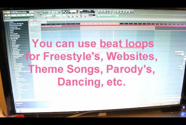 create an original 30 second jingle, song, loop