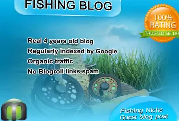 write and guest post on my FISHING blog