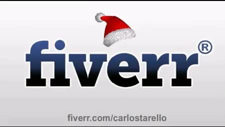 animate your logo in a christmas themed style 1
