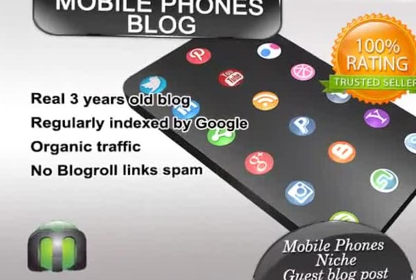 write and guest post on my mobile PHONES blog