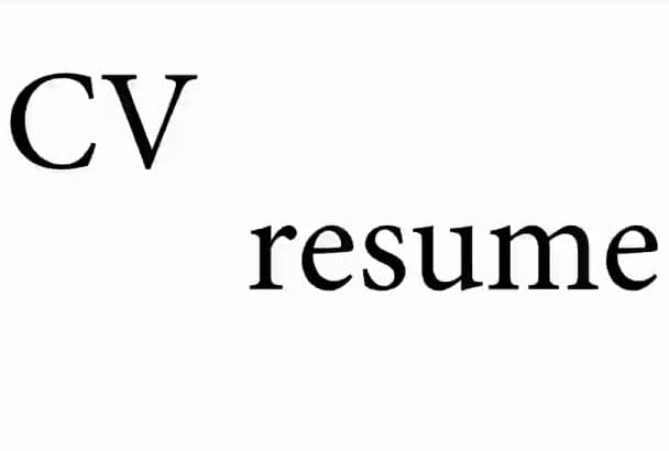meticulously proofread your resume or CV for spelling and grammatical errors