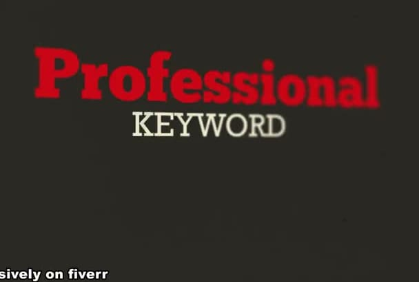 do Keyword Analysis and Research for TOP Rankings
