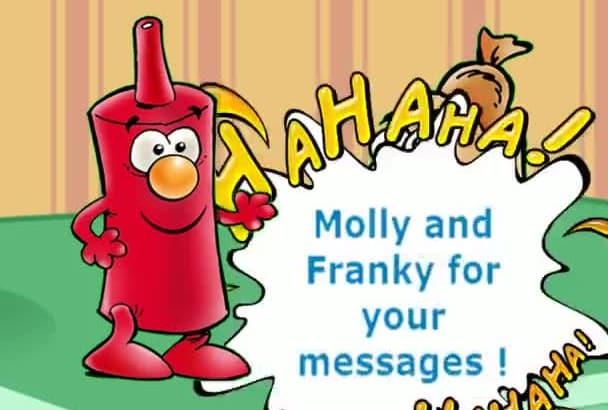 be Molly, the hotdog, your Spokesperson