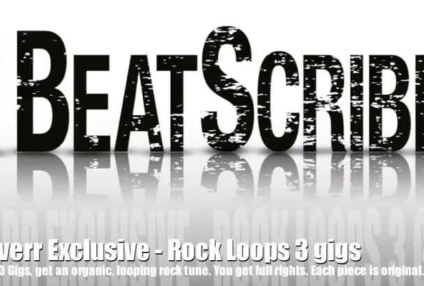 create a Rock Pop Punk or Metal Song Loop