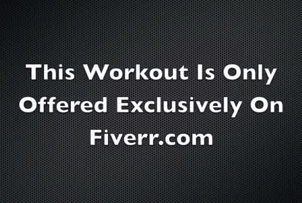 give you my 4 day workout plan and 6pack diet plan