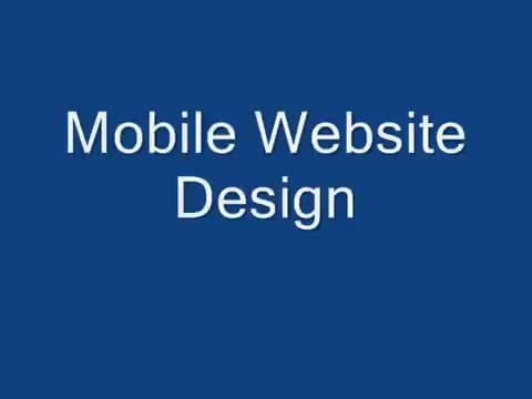 design best MOBILE website with  free installation, qr code, redirect script