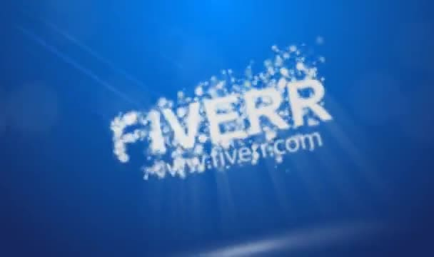 create this stunning particle logo hd intro