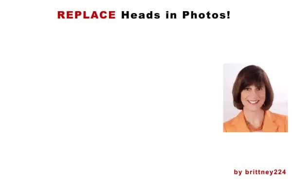 swap or replace heads on your photo