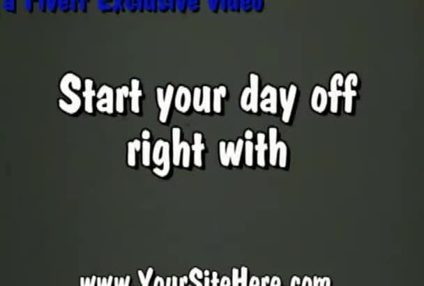 brand this vintage health and diet niche video with your url