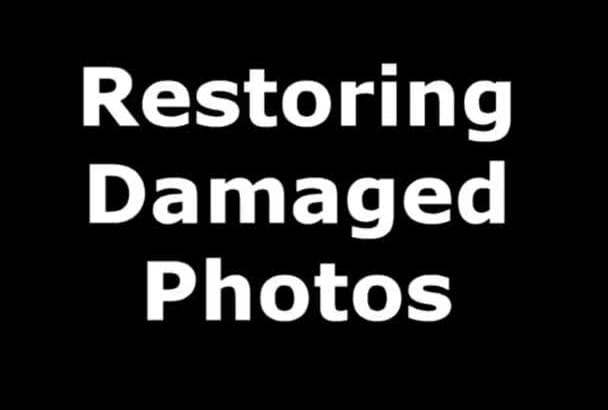 restore a damaged photo