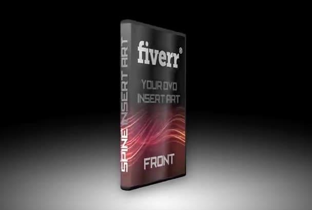 make a 3D DVD case video