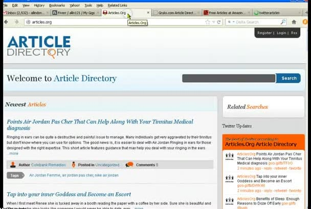 give you manually  20page rank 2+ approved article submission