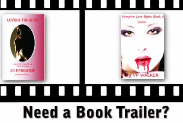 create a High Quality HD Video Book Trailer