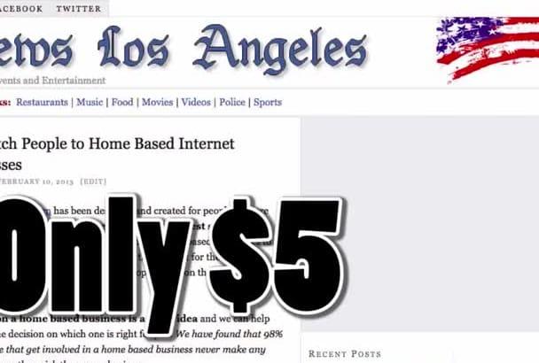 post on my Los Angeles News Blog
