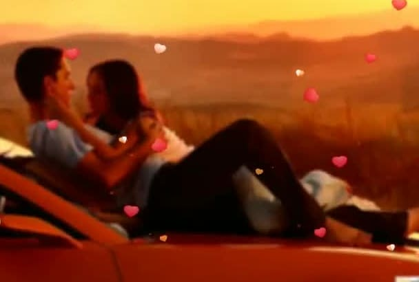 create a lovely romantic Valentine video slideshow