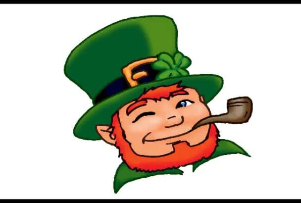 voice your radio spot or other written word as a leprechaun