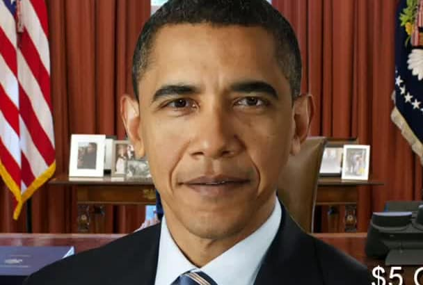 perfectly Mimic OBAMA In Video Greeting