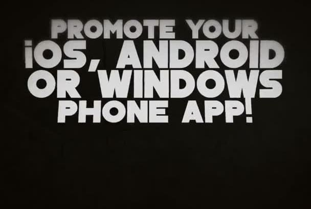 promote your app