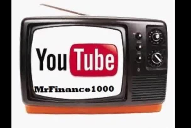 video recordings of explanations of financial topics