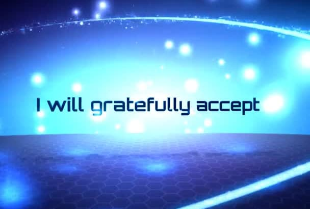 gratefully accept your bonus for a job well done