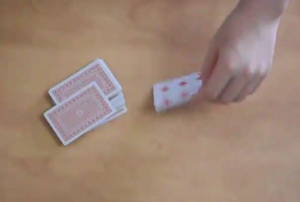 teach You 4 Professional Card Magic Tricks