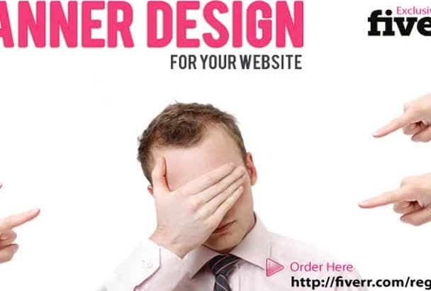 design a superb high quality professional banner for your website