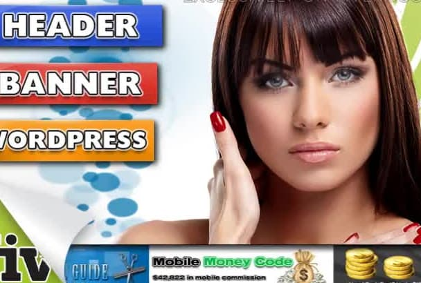 create HEADER, banner, web cover, facebook twitter
